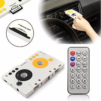 Auto-Kassette Sd Mmc Mp3 Tape Player Adapter Kit mit Fernbedienung, Stereo
