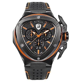 Tonino Lamborghini - Wristwatch - Men - SPYDER X - orange - T9XB