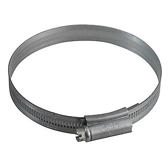 Jubilee 4 Zinc Protected Hose Clip 70 - 90mm (2.3/4 - 3.1/2in) JUB4
