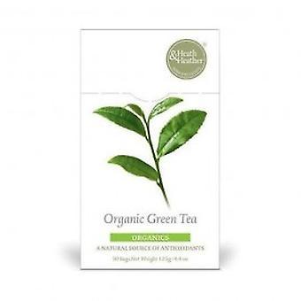 هيث & هيذر-20bag الشاي الأخضر العضوي