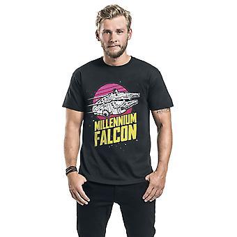 Star Wars Unisex Adult Millennium Falcon T-Shirt