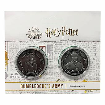 Harry Potter Dumbledore Army Collectible Coin Set (Luna Lovegood & Neville Longbottom)