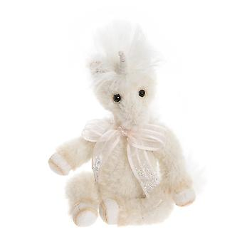 """Charlie Bears Little Gem Unicorn - Minimo collectable character - Limited edition of  600 pieces - 6"""" in height"""