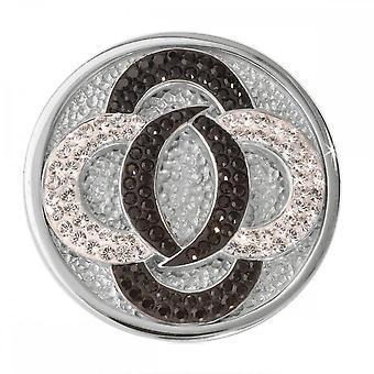 Nikki Lissoni Black Vs White Medium Silver Coin C1030SM