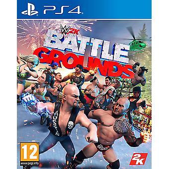 WWE Battlegrounds PS4 Game
