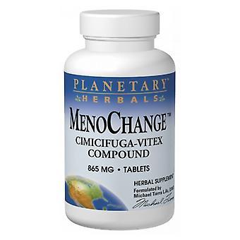 Planetary Herbals Menochange, 100 Tabs