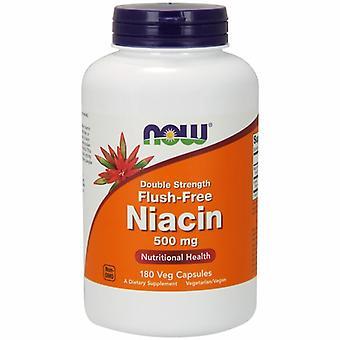 Nu Foods Flush-Free Niacin, 500mg, 180 Vcaps