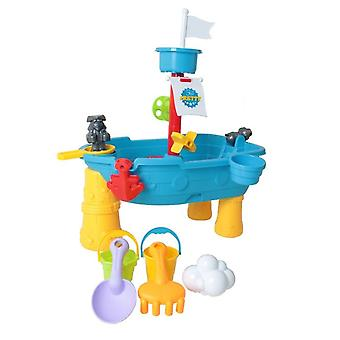 Creative Ship Design Beach Bucket-sand Jeu Ensemble en plastique
