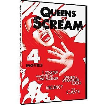 Queens of Scream: 4 Movie Thrill-Fest [DVD] USA import