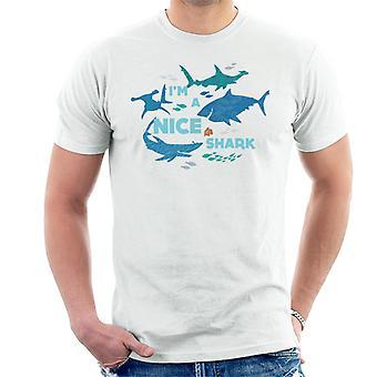 Pixar Finding Nemo I'm A Nice Shark Men's T-Shirt