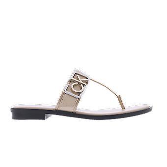Calvin Klein Tamura Mule Logo Beige B4E79323270 shoe