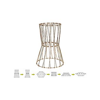 Anwen, 40cm Non-electric French Gold Adjustable & Flexible Shade