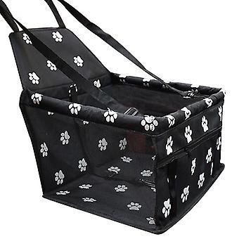 Pet Hund Auto Carrier Autostol Pose Vandtæt Kurv Folde Hængekøje Pet Carriers Bag For Small Cat Hunde Sikkerhed Travelling Mesh