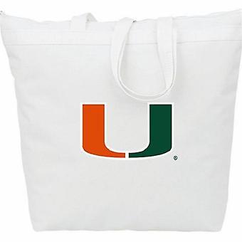 Miami Hurricanes NCAA Dragkedja Tote Bag