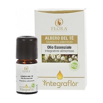 Integraflor Tea Tree Organic Essential Oil 5 ml of essential oil
