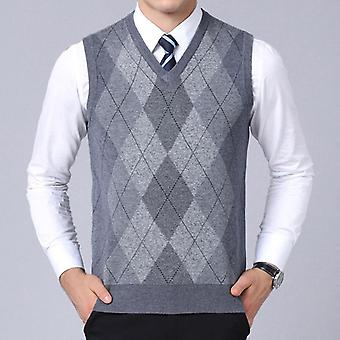 جديد أزياء العلامة التجارية سترة Pullovers منقوشة سليم تناسب البلوزات، نمط الخريف الكورية