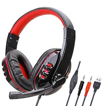 Good Quality On Ear Stereo Deep Bass Gaming Headphones  With Microphone