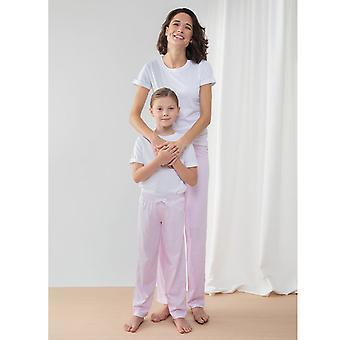 Towel City Childrens/Kids Long Pyjamas