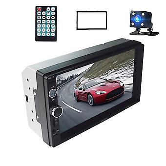 "2 Din Stereo Receiver 2din Car Radio Autoradio  7"" Hd Touch Screen 12v Car"