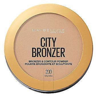 Maybelline New York City Bronzer Powder Makeup, Bronzer and Contour Powder, 200, 0.32 Oz