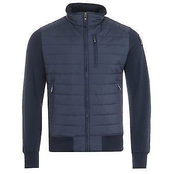 Parajumpers Elliot Puffer Zip Sweatshirt - Navy