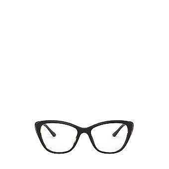Prada PR 04WV black / medium havana female eyeglasses