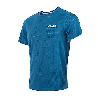 Quick Dry Short Sleeved Men Ping Pong Shirt Badminton Sport Jerseys
