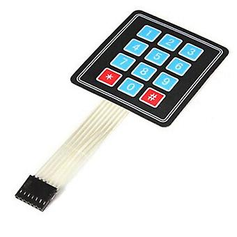 4x3 Matrix Array 12 Key Membrane Switch Keypad Keyboard