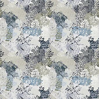 Danza de puntos multicolor alfombra impresa en poliéster, algodón, L100xP200 cm