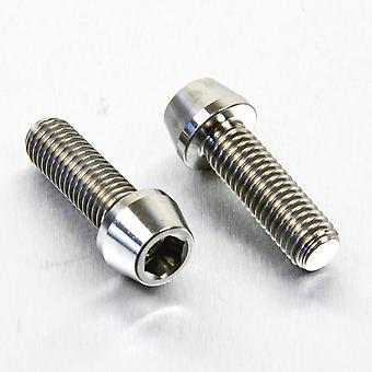 Pro perno titanio clip-on manillar barra pellizcar juego de perno (2 paquetes) TICLIPBAR130