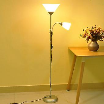 Stehlampe Doppelkopf verstellbar eisern vertikale Tischlampe Bild Mutter Lampe Wohnzimmer Studie Nachttisch lampe LED Augenschutz Lampe