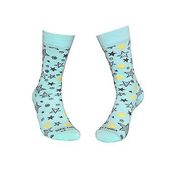 Fun Star Pattern Socks