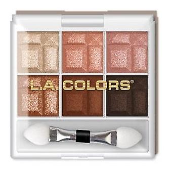 L.A. Colors 6 Shadow Earthy Palette