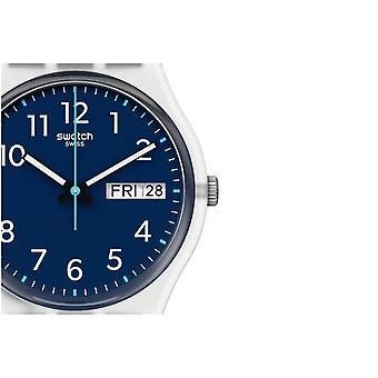 Swatch Ge725 Skyl Gentag Navy Silikone Watch