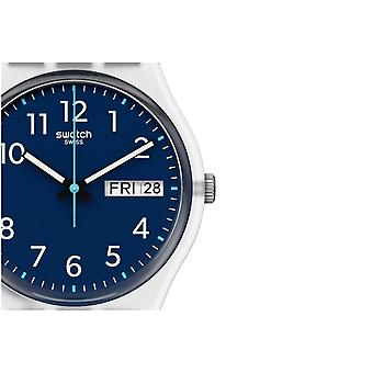 Swatch Ge725 Skölj Repeat Navy Silikon klocka