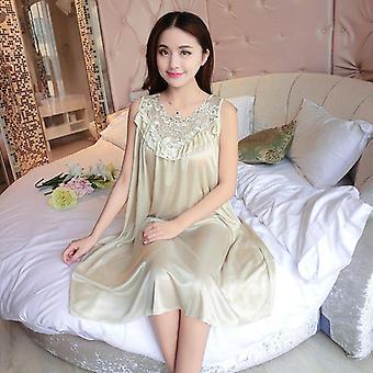 ملابس النوم الإناث ثوب النوم