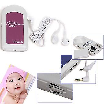 Cotec babysound a -lcd affichage prénatal doppler fœtal, baby heart beat monitor+ gel gratuit