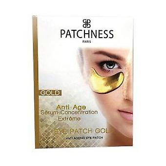 Gold eye patch with collagen 1 unit