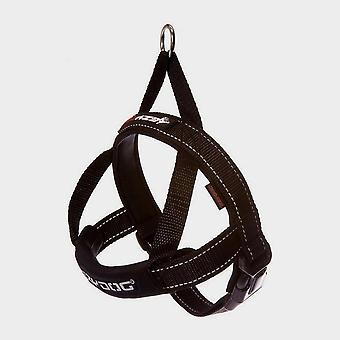 New Ezy-Dog Quick Fit Harness (XL) Black