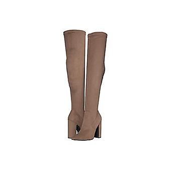 Steve Madden Womens carli Fabric Pointed Toe Over Knee Fashion Boots