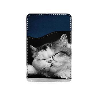 Exotic Katt Självhäftande Korthållare För Mobiltelefon