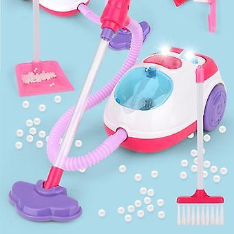 Kinder Simulation Staubsauger Spielzeug, vorgeben Reinigung, Montessori Früh