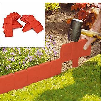 Tuinafscheiding 10 stuks PP imitatie steen simulatie hek opvouwbare splicing piket hekken voor tuin binnenplaats tuin decoratie