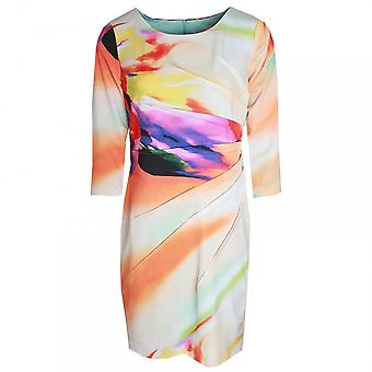 Frank Lyman manches 3/4 brillante impression robe