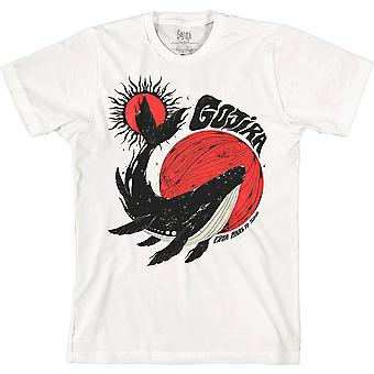 Gojira - Ballena Unisex Pequeña Camiseta - Blanco