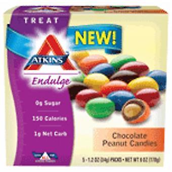Bonbons aux arachides au chocolat Atkins Endulge, 1,2 oz (5 comptes)