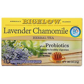 Bigelow Tea Lavend Cham Probiotic, Case of 6 X 0.98 Oz