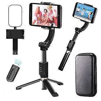 Universal handheld gimbal stabilizer tripod 360 auto rotation selfie stick for phone iphone 12  xiaomi samsung video vlog live