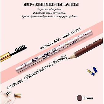 Professional 7.5g Double Head Eye Makeup Eye Brow Pencil Pen Eyebrow Enhancer
