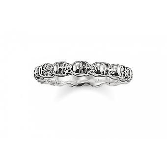 Thomas Sabo sterling sølv Thomas Sabo kranium ring TR1922-001-12